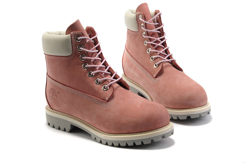 timberland homme rose