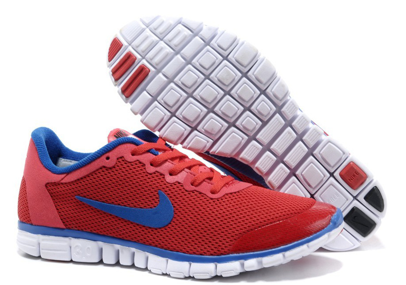 new product eee37 13f78 Nike-Free-3.0-v2-Homme-Gris-Clair-Bleu-